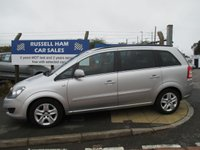USED 2011 61 VAUXHALL ZAFIRA 1.6 EXCLUSIV 5d 113 BHP 3 Stamps Of Service History .2 Owner Car .New MOT & Full Service Done on purchase + 2 Years FREE Mot & Service Included After . 3 Months Russell Ham Quality Warranty . All Car's Are HPI Clear . Finance Arranged - Credit Card's Accepted . for more cars www.russellham.co.uk  - Spare Key -Book Pack