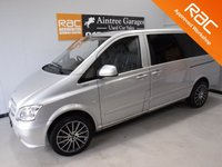 USED 2012 61 MERCEDES-BENZ VITO 2.1 113 CDI BLUEEFFICIENCY 1d 136 BHP 1 FORMER KEEPER FULL SERVICE HISTORY COLOUR CODED AIR CON ELECTRIC WINDOWS SOUND PROOFED AND INSULATED LED LIGHTING 6 SEATS REAR WINDOWS BRAND NEW 20 INC ALLOYS AND TYRES  Please Call Now on 0151525 4400,  07967141248. Family Run Business Since 1990