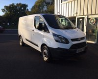 USED 2015 15 FORD TRANSIT CUSTOM 2.2 330 ECO-TE LONGWHEEL BASE 124 BHP THIS VEHICLE IS AT SITE 2 - TO VIEW CALL US ON 01903 323333