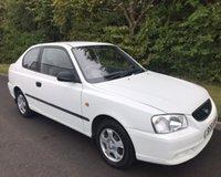 2002 HYUNDAI ACCENT 1.3 I 3d 84 BHP £1499.00