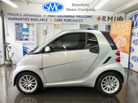 USED 2011 11 SMART FORTWO 1.0 PASSION MHD 2d AUTO 71 BHP