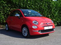 "USED 2015 P FIAT 500 1.2 LOUNGE 3d 69 BHP One Owner From New, Full Service History, Low Tax, Low Mileage, Excellent First Car, Low Insurance Group 8, Pan Roof, Uconnect, Bluetooth, Rear Parking Sensors, Voice Control, 15"" Alloy Wheels, Tinted Glass, Air Conditioning, Chrome Exterior, AUX, USB, Excellent Fuel Economy, Front + Rear Fog Lights, Spare Key, Drive Away In Under 1 Hour"