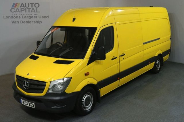 2013 63 MERCEDES-BENZ SPRINTER 2.1 313 CDI LWB 129 BHP AIR CON H/ROOF PANEL VAN AIR CONDITIONING / REVERSE CAM