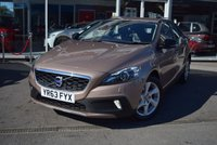 2013 VOLVO V40 1.6 D2 CROSS COUNTRY LUX 5d 113 BHP £9890.00