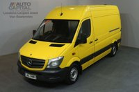 USED 2013 63 MERCEDES-BENZ SPRINTER 2.1 313 CDI MWB 129 BHP H/R AIR CON RWD VAN AIR CONDITIONING / REVERSE CAM