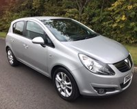 USED 2010 60 VAUXHALL CORSA 1.4 SXI A/C 5d 98 BHP 6 MONTHS PARTS+ LABOUR WARRANTY+AA COVER