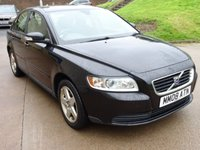 USED 2008 08 VOLVO S40 1.6 S 4d 100 BHP GREAT EXAMPLE OF VERY LOW GENUINE MILEAGE +  1 PREVIOUS KEEPER +  FULL YEAR MOT +  SERVICE RECORD +