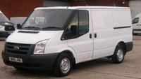 2012 FORD TRANSIT 280 SWB 2.2 LOW ROOF 1 OWNER 12 MONTHS WARRANTY COVER  £3890.00