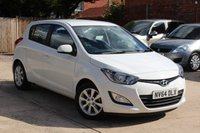 USED 2014 64 HYUNDAI I20 1.2 ACTIVE 5d 84 BHP **** £30 ROAD TAX * EXCELLENT CONDITION WITH LOW MILEAGE ****