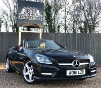 2011 MERCEDES-BENZ SLK 200 1.8 SLK200 BLUEEFFICIENCY AMG SPORT 2dr