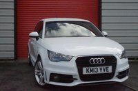 USED 2013 13 AUDI A1 2.0 SPORTBACK TDI S LINE 5d 141 BHP 2 keys/ No Hidden Fees/2 owners