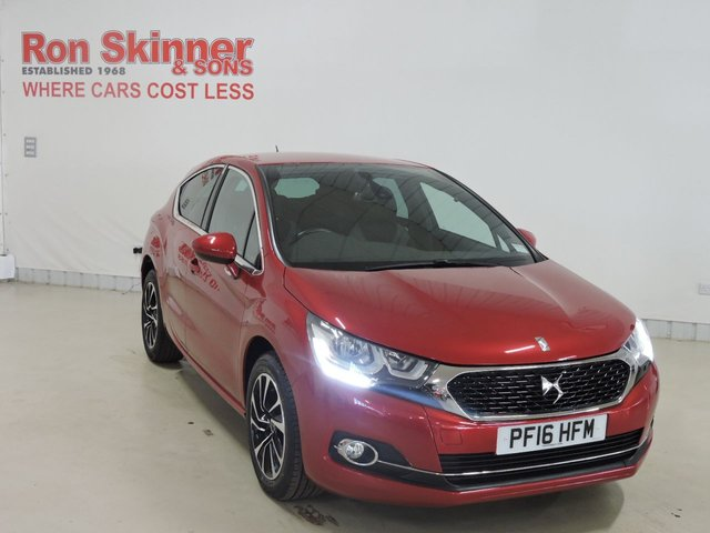 View our 2016 16 DS DS 4 1.6 BLUEHDI ELEGANCE S/S 5d 120 BHP