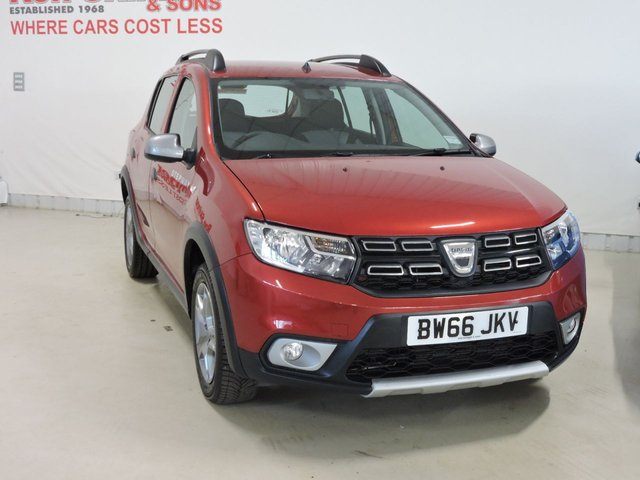 View our 2017 66 DACIA SANDERO 1.5 STEPWAY LAUREATE DCI 5d 90 BHP