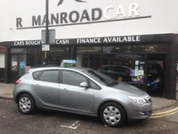 2010 VAUXHALL ASTRA 1.6 EXCLUSIV 5d 113 BHP £4395.00