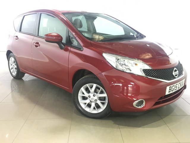 View our 2015 15 NISSAN NOTE 1.2 ACENTA PREMIUM 5d 80 BHP