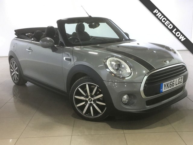 View our 2016 66 MINI CONVERTIBLE 1.5 COOPER D 2d 114 BHP