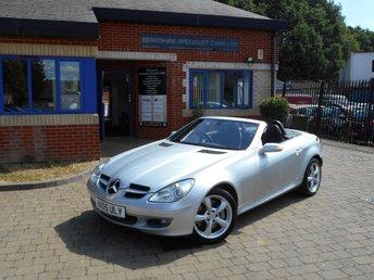 2005 MERCEDES-BENZ SLK 3.5 SLK350 2d AUTO 269 BHP £5690.00