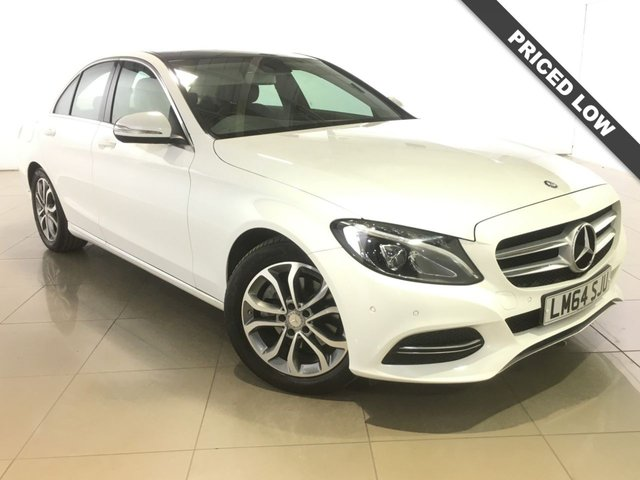 View our 2014 64 MERCEDES-BENZ C CLASS 2.1 C220 BLUETEC SPORT NAV 4d 170 BHP