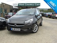 USED 2016 16 VAUXHALL CORSA 1.2 ENERGY AC 3d 69 BHP High Specification Low Mileage Hatchback