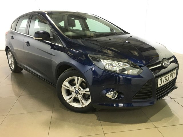 View our 2013 63 FORD FOCUS 1.6 ZETEC 5d AUTO 124 BHP