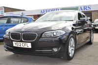 2012 BMW 5 SERIES 2.0 520D EFFICIENTDYNAMICS 4d 181 BHP £9995.00