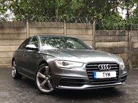 2014 AUDI A6 SALOON 2.0 TDI ULTRA S LINE BLACK EDITION 4d AUTO 188 BHP £12995.00