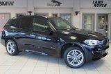 USED 2014 64 BMW X5 3.0 XDRIVE30D M SPORT 5d 255 BHP FULL BLACK LEATHER SEATS + FULL BMW SERVICE HISTORY + PRO SATELLITE NAVIGATION + XENON HEADLIGHTS + DAB RADIO + HEATED FRONT SEATS + PARKING SENSORS + CRUISE CONTROL + 19 INCH ALLOYS
