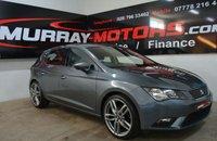 2015 SEAT LEON 1.6 TDI ECOMOTIVE SE 5DOOR 110 BHP MONSOON GREY £10150.00