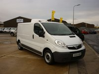 2014 VAUXHALL VIVARO 2.0 2900 CDTI 115BHP Fridge Van to -9 c with GAH  fridge ready to work nice vehicle NO VAT NO VAT NO VAT !!!! £10995.00