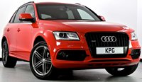 "USED 2013 62 AUDI Q5 2.0 TDI S line S Tronic Quattro (s/s) 5dr Black Pack, 20""s, Htd Leather"