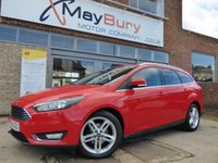 USED 2017 66 FORD FOCUS 1.5 TITANIUM TDCI 5d 118 BHP BRILLIANT VALUE WITH ALL THE TOYS AND FSH