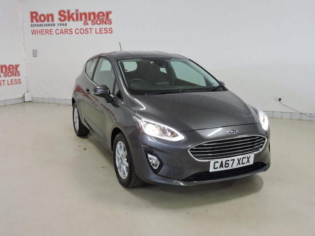 View our 2018 67 FORD FIESTA (68)    1.1 ZETEC 3d 85 BHP with Sync3 Nav + Rear View Camera