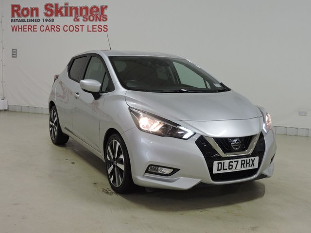 View our 2017 67 NISSAN MICRA 0.9 IG-T TEKNA 5d 89 BHP