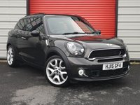 USED 2015 15 MINI PACEMAN 1.6 COOPER S 3d 184 BHP 2 keys/ No Hidden Fees/2 owners