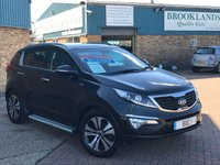 2013 KIA SPORTAGE 2.0 KX-4 CRDI Auto PANTHOM BLACK HEATED LEATHER SAT NAV 181 BHP £14995.00
