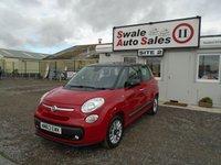 2013 FIAT 500L 1.6 MULTIJET LOUNGE 105 BHP £6995.00