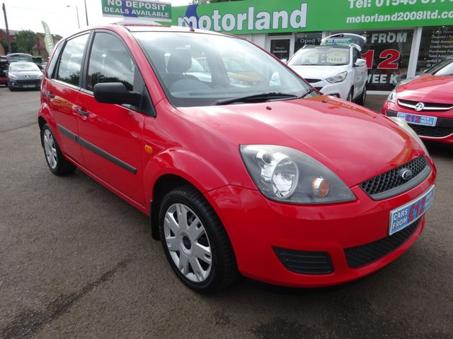 USED 2008 08 FORD FIESTA 1.4 STYLE TDCI 5d 68 BHP £0 DEPOSIT FINANCE AVAILABLE....1 FAMILY OWNED CAR FROM NEW WITH A FULL STAMPED SERVICE HISTORY