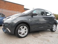 USED 2014 64 TOYOTA AYGO 1.0 VVT-I X-PRESSION 5d 69 BHP FREE ROAD TAX 14,000 MILES