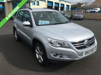 2009 VOLKSWAGEN TIGUAN 2.0 ESCAPE TDI 5d 4 MOTION £5150.00