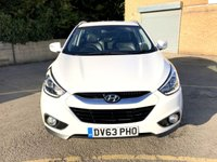 USED 2013 63 HYUNDAI IX35 1.7 SE CRDI 5d HALF LEATHER, ONLY 41K, SERVICE HISTORY  ONLY 1 FORMER KEEPER, 41K SERVICE HISTORY,