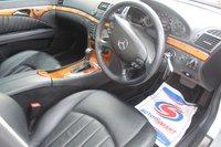 USED 2007 07 MERCEDES-BENZ E CLASS 3.0 E320 CDI ELEGANCE 4d AUTO 222 BHP DIESEL SILVER FULL SERVICE HISTORY + GENUINE LOW MILEAGE