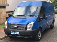 2012 FORD TRANSIT 2.2 RWD 350 LWB MEDIUM ROOF 125 BHP 6 SPEED £4995.00