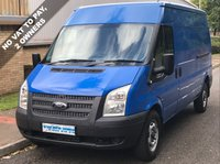 USED 2012 12 FORD TRANSIT 2.2 RWD 350 LWB MEDIUM ROOF 125 BHP 6 SPEED No VAT To Pay, 2 Owners