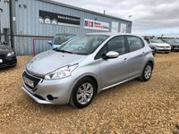 USED 2012 62 PEUGEOT 208 1.2 ACCESS PLUS 5d 82 BHP
