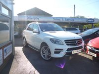 2015 MERCEDES-BENZ M CLASS 3.0 ML350 BLUETEC AMG LINE PREMIUM PLUS 5d 258 BHP £24999.00