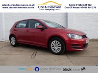 USED 2014 64 VOLKSWAGEN GOLF 1.6 S TDI BLUEMOTION TECHNOLOGY 5d 103 BHP One Owner Full VW History Buy Now, Pay in 2 Months!