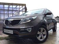 2012 KIA SPORTAGE 1.7 CRDI 2 5d 114BHP £9690.00