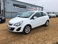 USED 2014 B VAUXHALL CORSA 1.2 EXCITE AC 3d 83 BHP