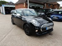 USED 2014 64 MINI HATCH COOPER 1.5 COOPER 3d 134 BHP SERVICE HISTORY,TWO KEYS,AIR CON,USB AND AUX PORT,BLUETOOTH