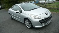 USED 2009 09 PEUGEOT 207 1.6 GT COUPE CABRIOLET 2d 118 BHP